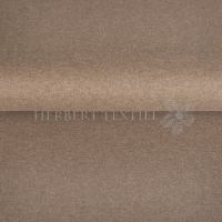 Organic Interlock Jersey uni melange light brown 130788-5005