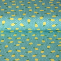 Kids Jersey pineapple dots mint KC1412-021