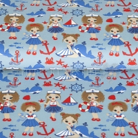 Stenzo Jersey sweet sailor girls blue red 11625-09