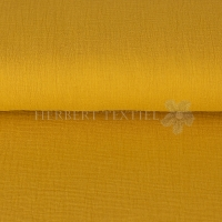 Cotton Hydrofieldoek Mousseline Double gauze uni ocre 03959-011