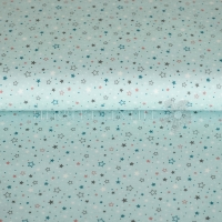 Flanel printed a lot of stars mint 130298-3003