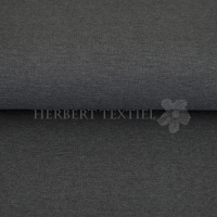 Boordstof uni melange dark grey RS0237-066