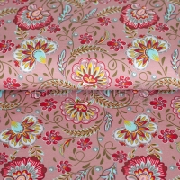 Stenzo Jersey floral dreams old rose 12651-12