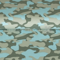 Stenzo Tricot Jersey camouflage turquoise 7697-99