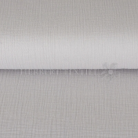 Cotton Hydrofieldoek Mousseline Double gauze silver grey 03959-022