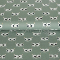 Stenzo Jersey cat´s face old green 4616-10