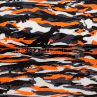 Fleece Camouflage Dino orange 07698-005