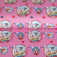 Digital Printing sailor girl pink 04328-001