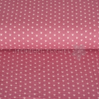 Cotton Hydrofieldoek Mousseline Double gauze crowns fuchsia 01854-004