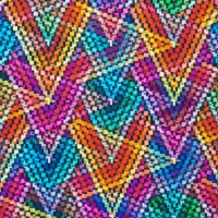 Digital Printing tripping zigzag 60241