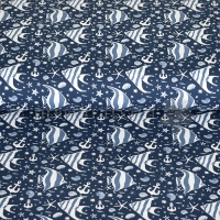 Stenzo Jersey Maritim fishes blue 13652-15