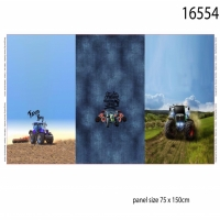 Stenzo Digital Printed French Terry panel tractor 16554