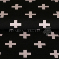 Stenzo Bio-Cotton Jersey big cross black rose 2600-2012