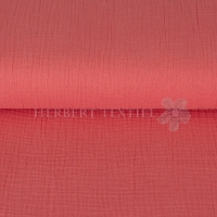 Cotton Hydrofieldoek Mousseline Double gauze coral 03959-018