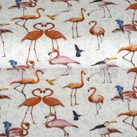 Digital Printing flamingos 02854-001