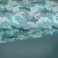 Softshell shark at camouflage mint 690045-3002
