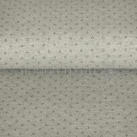 Piqué Polo print dots grey KC2053-765