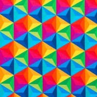 Digital Printing tripping triangles 60239