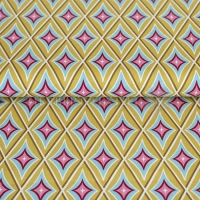 Happiness Summer Cotton circus diamond green yellow 02070-003