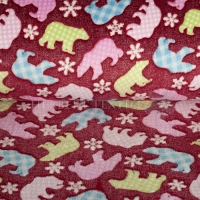 Wellness Fleece polarbears red 125495-0804