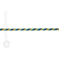 Kordel Multi / Cord Round Multi 6mm multi color