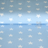Jersey stars 3cm light blue 01915-016