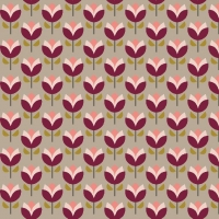 Tassenstof Cotton jolly tulips beige 06435-001