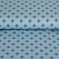 Stenzo Bio-Cotton Jersey cross light blue grey 2602-0933