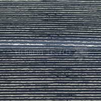 Cotton printed scratched stripes dusty blue white KC0384-303