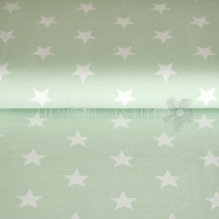 Jersey stars 3cm light green 01915-017