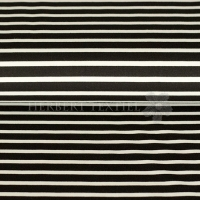 Viscose Jersey Maritime stripes black white 06976-001