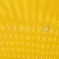 Wachstuch dots yellow P6118-08