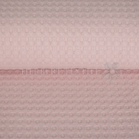 Big heavy waffle light rose 4036-1011