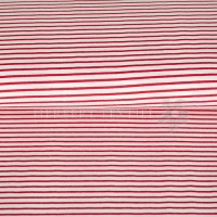 Jersey stripes red 4088-15