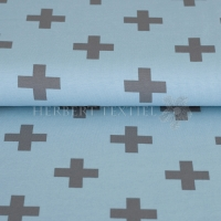 Stenzo Bio-Cotton Jersey big cross light blue grey 2600-0933