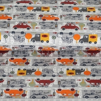 Kids Jersey cars in the city grey 4440-16