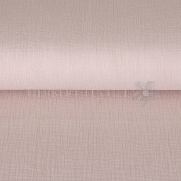 Cotton Hydrofieldoek Mousseline Double gauze light mauve 03959-015