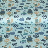 Stenzo Jersey sailor animals aqua 11620-99
