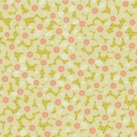 Softshell Digitalprint lovely flowers green yellow 05698-001