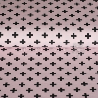 Stenzo Bio-Cotton Jersey cross rose black 2602-1220