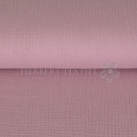 Cotton Hydrofieldoek Mousseline Double gauze light old rose 03959-014