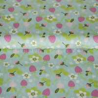 Cotton strawberry garden mint 05677-002