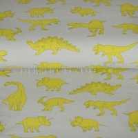 French Terry powerful dinos light grey 06013-002