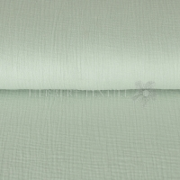 Cotton Hydrofieldoek Mousseline Double gauze light mint 03959-016