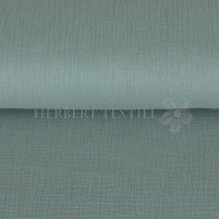 Cotton Hydrofieldoek Mousseline Double gauze dusty mint 03959-017