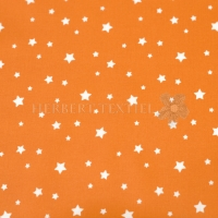 Wachstuch stars orange P4066-13