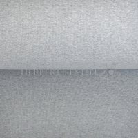 Organic Bündchen melange light grey 130789-3002