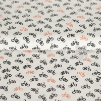 Cotton bicycle white 01305-001