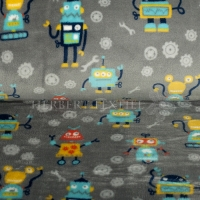 Wellness Fleece robots grey 128499-3005