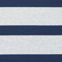 Breton stripe big light grey-dark blue 61152